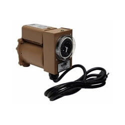 "006 Plumb N' Plug Stainless Steel Circulator, w/ Analog Timer & Line Cord, 1/40 HP (3/4"" NPT) Product Image"