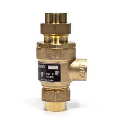 "1/2"" 9D-M3 Dual Check Valve w/ Atmospheric Vent (Copper Press) Product Image"