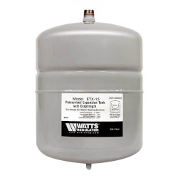 ETX-15, Non-Potable Water Expansion Tank<br>(2.1 Gallon) Product Image