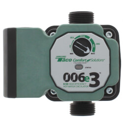 006e3 ECM High-Efficiency Hot Water Circulation Pump Product Image