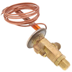 "1/4"" x 1/2"" SAE HFE<br>Series Thermal<br>Expansion Valve (0.5 Ton) Product Image"