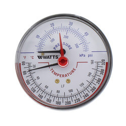 "LFDPTG-3 3"" Pressure & Temperature Gauge (0-50 psi) Product Image"