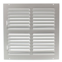 """12"""" x 12"""" (Wall Opening Size) Sidewall/Ceiling Register (301 Series) Product Image"""