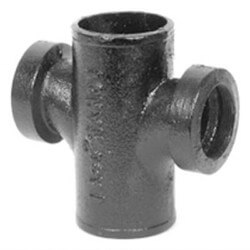 "3"" Service Weight Cast Iron Sanitary Cross Product Image"