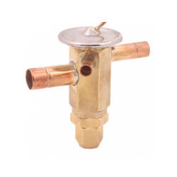 "ACP 9 IE 3/8"" x 3/8"" x 1/2"" (Flare) Angle Body Automatic Thermal Expansion Valve Product Image"