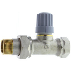 "3/4"" Straight Thermostatic Radiator Valve Product Image"