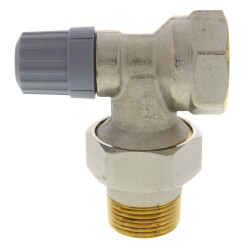 "1"" Angle Thermostatic Radiator Valve Product Image"