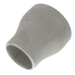 """2"""" x 1"""" Sch 10 Stainless Steel Butt-Weld<br>Concentric Reducer Product Image"""