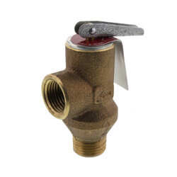"""1/2"""" 53L Poppet Type Pressure Relief Valve <br>(100 psi) Product Image"""