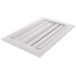 "12"" x 6"" 2-Way Aluminum Curved Blade Register (A612MS Series) Product Image"