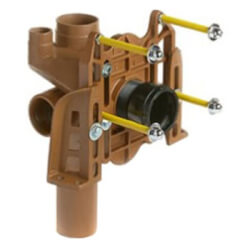 Left Hand Vertical Fittings with Side Inlet for Siphon Jet Water Closets Shallow Rough-In Type (No Hub) Product Image