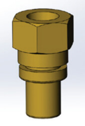 Z-Block Sensor & Vent Fitting (Brass) Product Image