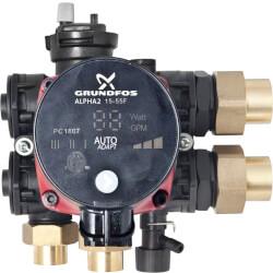 Z-Block Hydronic Zoning Block w/ Alpha Pump Product Image