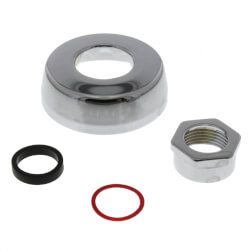 """F-5-AW 3/4"""" CP Spud Coupling Assembly for Exposed Flushometers Product Image"""