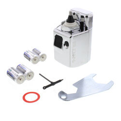 Optima EBV-89A-M Battery Powered Side Mount Operator w/ Metal Cover Product Image