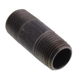 "1/2"" x 2"" Black Nipple Product Image"