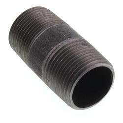 """1"""" x 2-1/2"""" Black Nipple Product Image"""