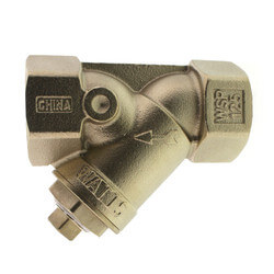 "1-1/2"" LF777SI Lead Free Brass Wye Strainer (Threaded) Product Image"