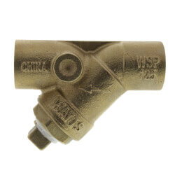 "1"" LFS777SI Lead Free Brass Wye Strainer (Solder) Product Image"