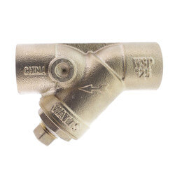 "1-1/4"" LFS777SI Lead Free Brass Wye Strainer (Solder) Product Image"
