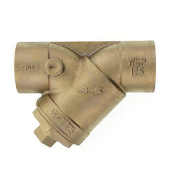 "2"" LFS777SI Lead Free Brass Wye Strainer (Solder) Product Image"