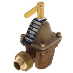 "SB1156F 1/2"" Bronze High Capacity Feed Water Pressure Regulator Product Image"