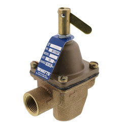 "B1156F 1/2"" Bronze High Cap. Feed Water Pressure Regulator Product Image"