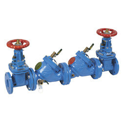 "4"" LF709-OSY Lead Free Double Check Valve Assembly Product Image"