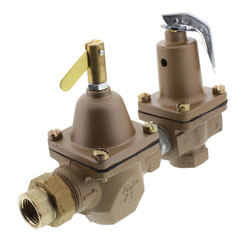 "1/2"" T1450F Pressure Regulator & Relief Combo (Union Threaded) Product Image"