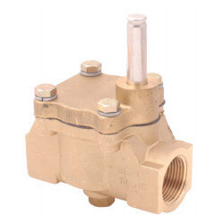 "3/4"" Rulon 2-Way Normally Closed Valve (7 Cv) Product Image"