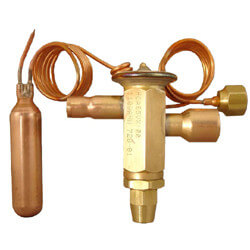 "3/8"" x 5/8"" HXAE-5-VX100 Thermal Expansion Valve (3-1/2 to 5 Tons) Product Image"