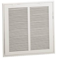 """16"""" x 25"""" (Wall Opening Size) White Sidewall/Ceiling Return Air Filter Grille (659 Series) Product Image"""