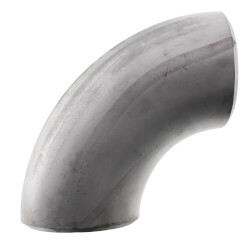 """2"""" Sch 40 Stainless<bR>Steel Butt-Weld 90°<br>Long Radius Elbow Product Image"""