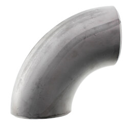 """3"""" Sch 40 Stainless<br>Steel Butt-Weld 90°<br>Long Radius Elbow Product Image"""