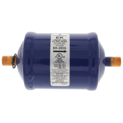 "3/8"" ODF EK 083S Series Liquid line Filter Drier (8 Cubic Inches) Product Image"