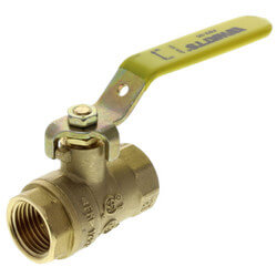 "1/2"" Full Port Threaded <br>Ball Valve Product Image"