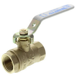 "1/2"" Full Port Threaded Ball Valve (Lead Free) Product Image"