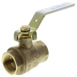 "3/4"" Full Port Threaded Ball Valve (Lead Free) Product Image"
