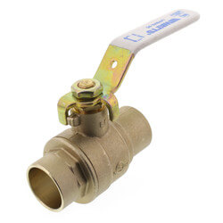 "1"" Full Port Sweat Ball Valve<br>(Lead Free) Product Image"