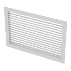 "10"" x 6"" (Wall Opening Size) Aluminum Register, Adj Horizontal Blades (HD Series) Product Image"