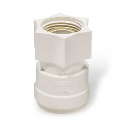 """Polysulfone Quick-Connect F Connector<br>3/4"""" CTS x 3/4"""" NPS Product Image"""