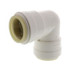 """Polysulfone Quick-Connect Union 90° Elbow, 1"""" CTS Product Image"""