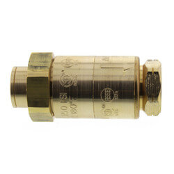 """3/8"""" LF7 Dual Check Valve <br>(Bronze) Lead Free Product Image"""