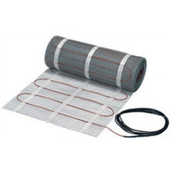25 Sq. Ft. (2' x 12.5') LX Electric Floor Heating Mat (120v) Product Image