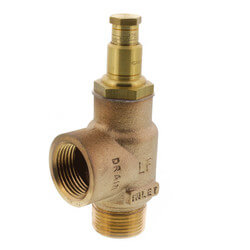 "3/4"" FWC Adjustable Pressure Relief Valve (125 PSI) - Lead Free Product Image"