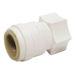 """Quick-Connect Female Swivel Adapter, 3/4"""" CTS x 3/4"""" NPS Product Image"""