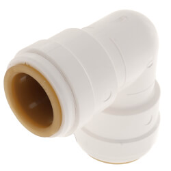 "3/4"" CTS Quick-Connect Union 90° Elbow (3517-14) Product Image"