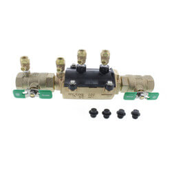 "1"" Wilkins 350XL Double Check Valve Assembly (Lead Free) Product Image"