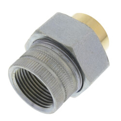 """1"""" CxF Dielectric Union<br>(Lead Free) Product Image"""