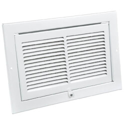 "6"" x 10"" EasyAir Kitchen Grille (White) Product Image"
